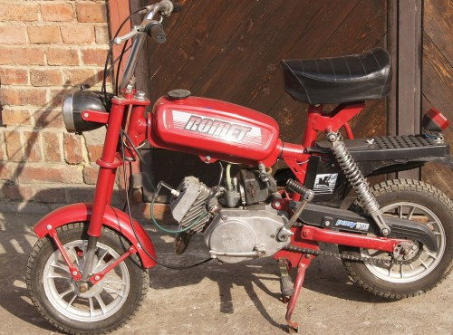 Motorynka - Motorower Romet 50 M-1 Pony i inne polskie motorynki