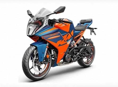 2022 KTM RC390 - wyciek zdjęć nowego motocykla sportowego od KTM tużprzed oficjalną premierą