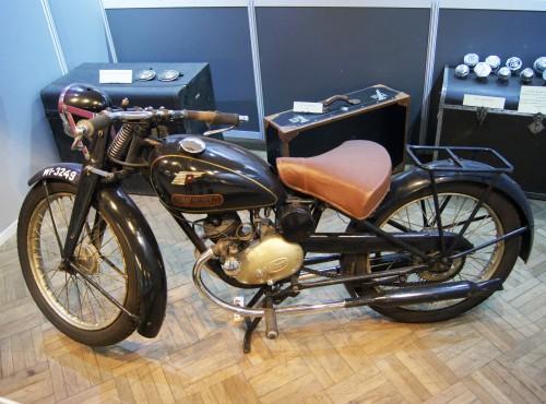 Perkun, opis, dane techniczne. Motorower z warszawskiego Grochowa