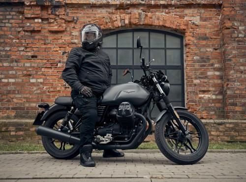 Odzież dla motocyklisty z nadwagą. Test kurtki Rebelhorn Hunter Pro i jeansów Rebelhorn Vandal Twill