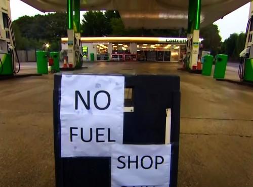 Kryzys paliwowy w Wielkiej Brytanii. Rząd będzie ratował sytuację tzw.