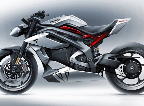Motocykle Triumph z mniejszymi silnikami już są w fazie testów. Co z motocyklami elektrycznymi?