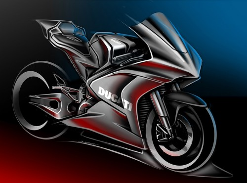 Motocykle elektryczne Ducati staną sięfaktem - producent zacznie od stworzenia maszyn dla serii MotoE