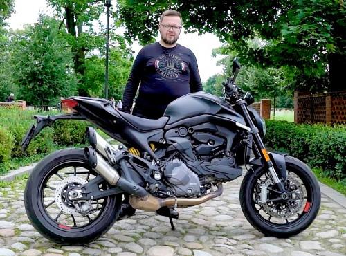 2021 Ducati Monster - test potwornej rewolucji Ducati