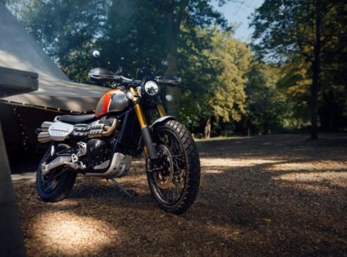 Gama motocykli Triumph Bonneville zaprezentowana w edycji Gold Line na sezon 2022