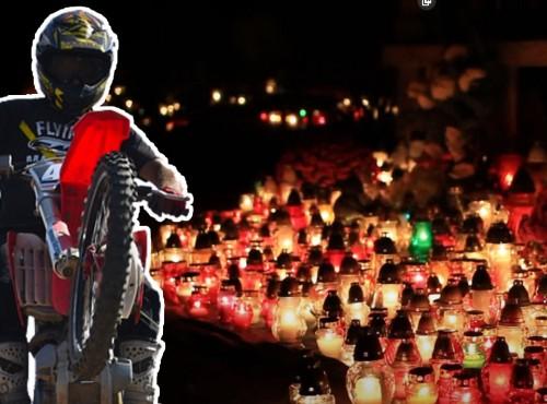Motocrossem po cmentarzu. 17-latek urządził sobie rajd po alejkach cmentarnych
