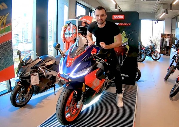 Aprilia RS660 wszechstronny motocykl ze sportowym charakterem