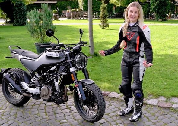 Husqvarna Svartpilen 125 i Karolina Was sprawdzamy duzy motocykl dla osob bez prawa jazdy kat A