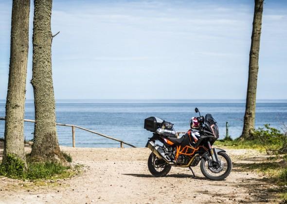 Motocyklem nad morze? Poznaj trzy trasy alternatywne!