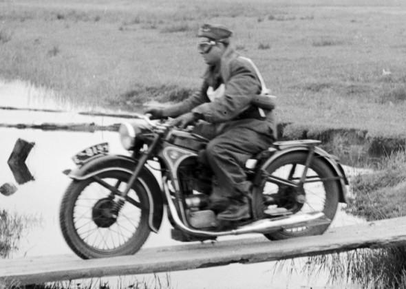 Motocykle BMW R35 w Ludowym Wojsku Polskim