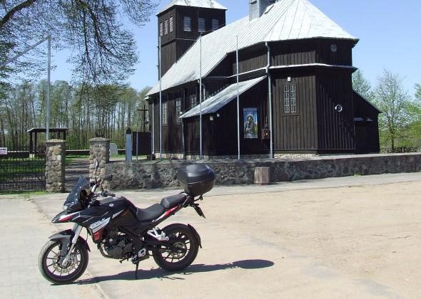 Trasa motocyklowa przez Kampinos i wzdłuż rzeki Wkry (TPM #6)