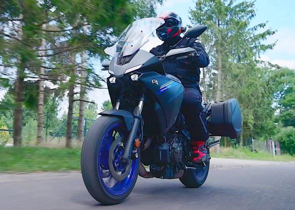 Yamaha Tracer 7 GT test modelu na rok 2021