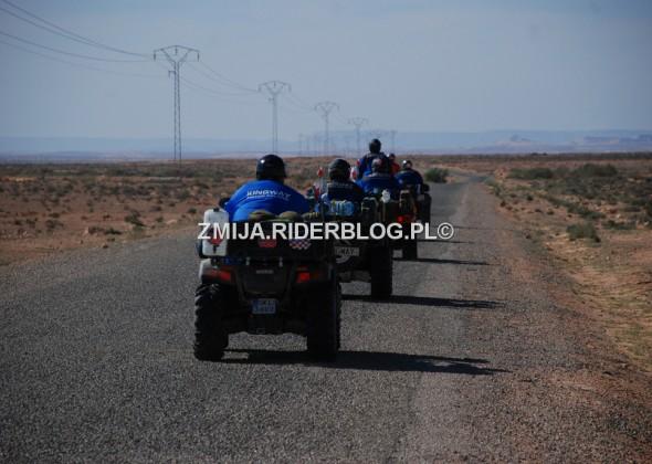 1 drogi Tunezja quady