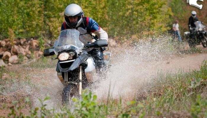 BMW GS Motocykl Challenge w Nowej Dębie