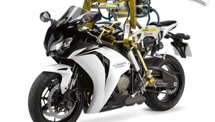 Flossie - robot do testowania motocykli