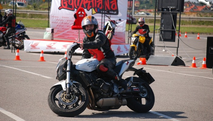 Honda Gymkhana po raz trzeci - Gdańsk 2011