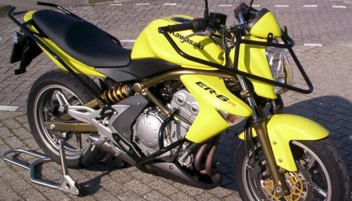 Kawasaki ER 6 N jako motocykl do nauki jazdy