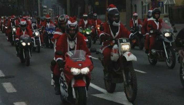 Mikołaje na Motocyklach w Gdyni 2008