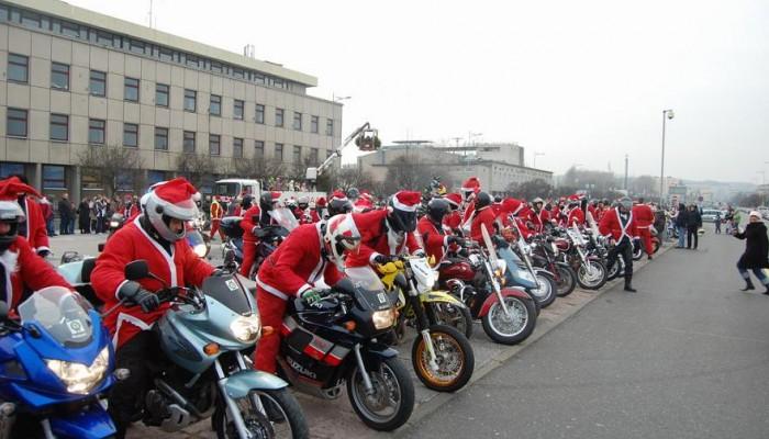Mikołaje na Motorach na Śląsku