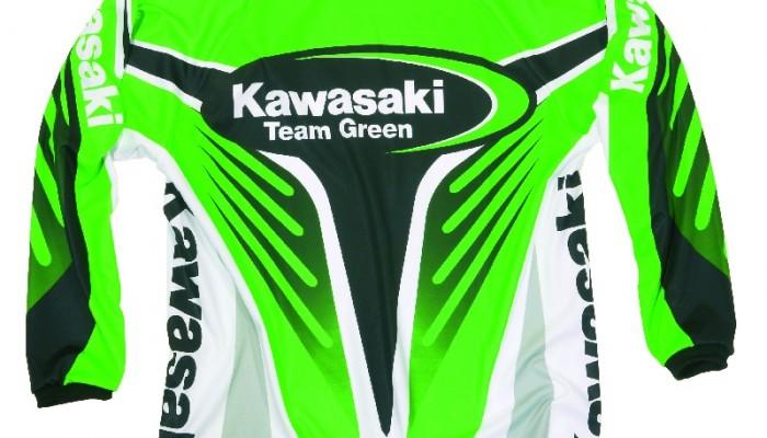 Odzież motocrossowa Kawasaki