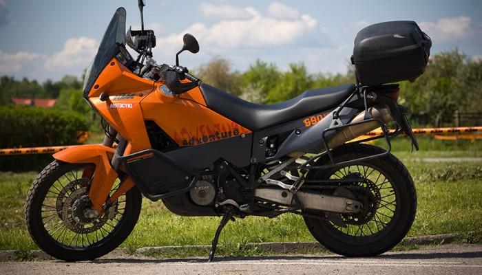 Sprzedaż motocykli w kwietniu 2008