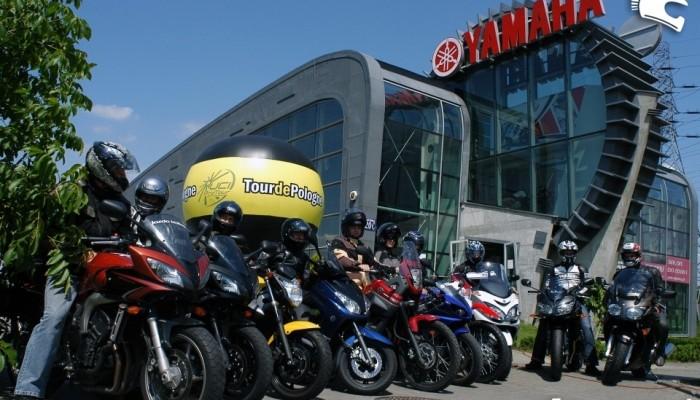 Yamaha po raz kolejny z Tour de Pologne
