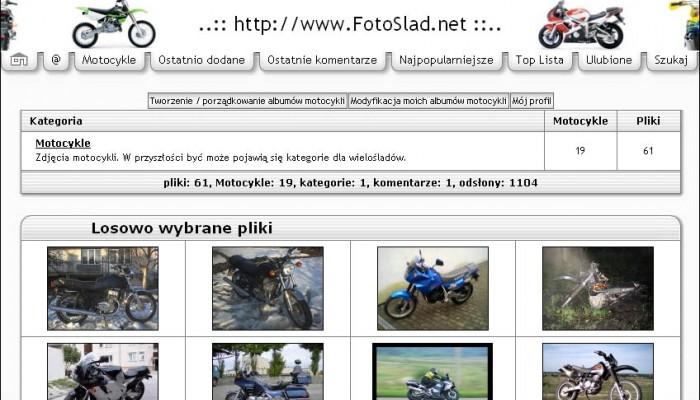 Zdjęcia motocykli po polsku