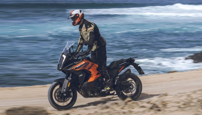 KTM 1290 Super Adventure S Lowca teren z