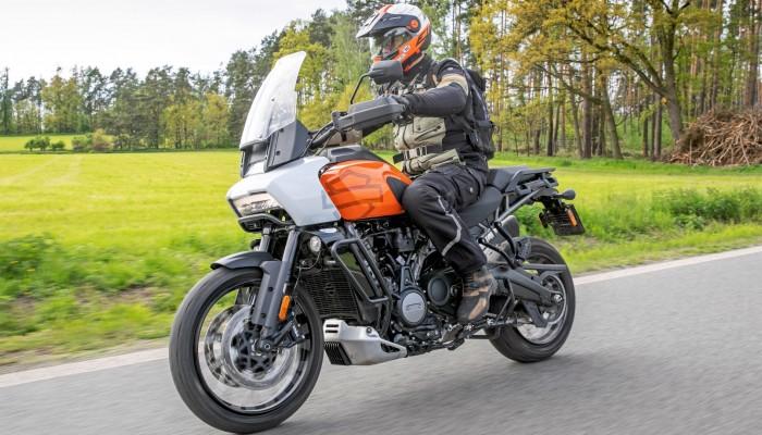 Harley Davidson 1250 Pan America 2021 Mariusz Lowicki z