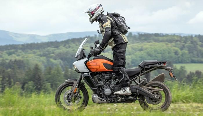 Harley Davidson 1250 Pan America 2021 wzgorza z