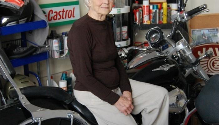 Irena Kwapisz - pół wieku z motocyklami