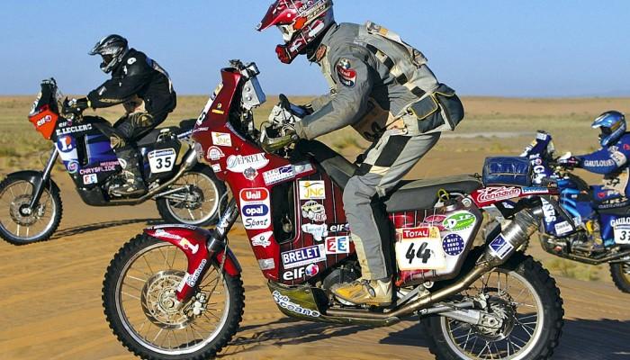 Motocykle które zdobyły pustynię - triumfatorzy Dakaru