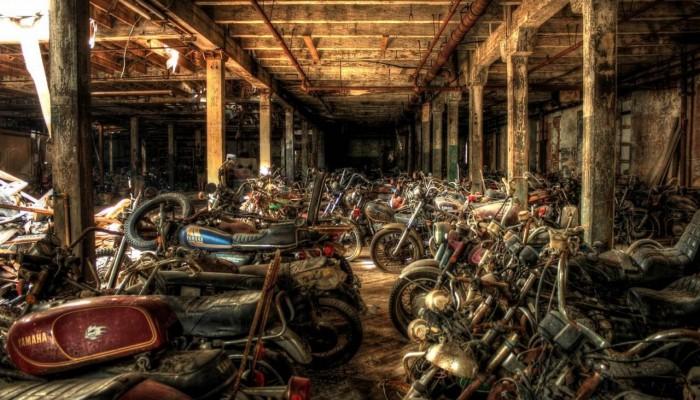 The Walking Dead, czyli powypadkowe motocykle używane