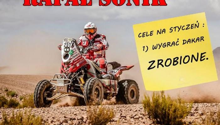 Rafał Sonik wygrywa Dakar - tymczasem w mediach...