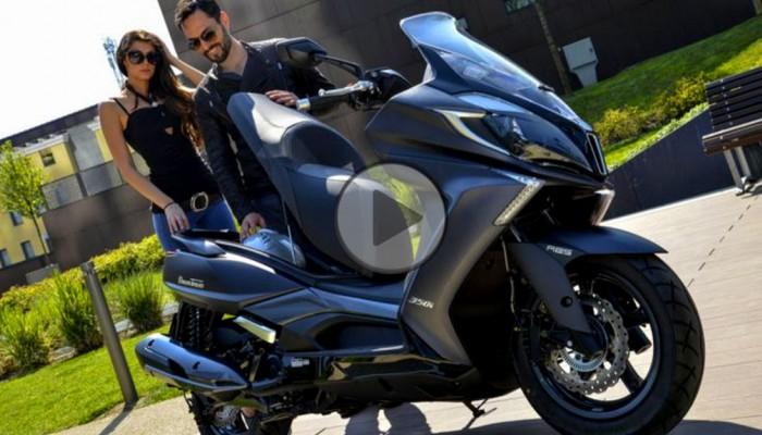 Kymco New Downtown 350i - najlepszy skuter do miasta