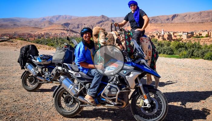 Maroko motocyklem, czyli relacja z wyjazdu z ADVPoland [video]