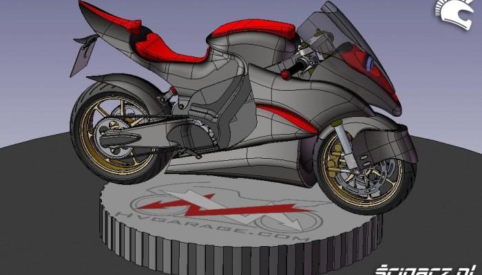 Elektryczny motocykl wyścigowy - nadzieja umiera ostatnia