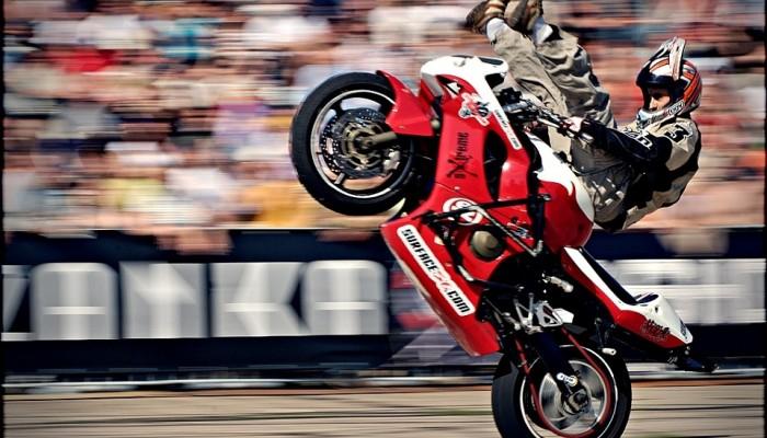 Honda CBR600F4i - fenomen w stuncie
