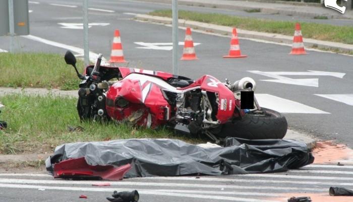 Inauguracyjna śmierć motocyklisty