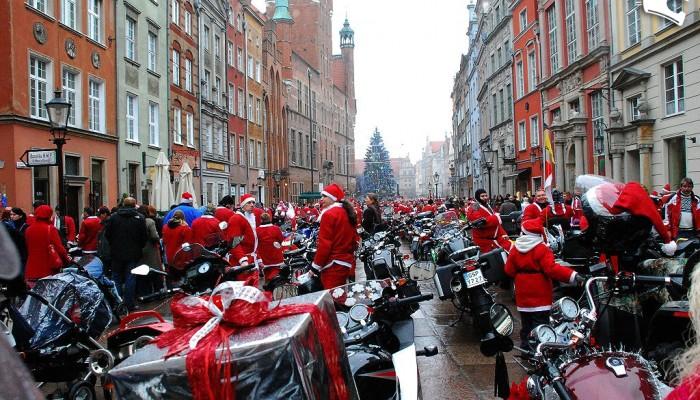 Mikołaje na Motocyklach w Trójmieście - fenomen pomagania