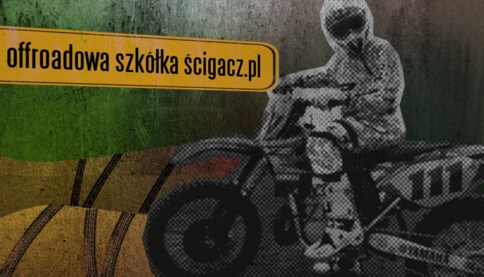 Offroadowa szkółka Ścigacz.pl - zakręty z koleiną