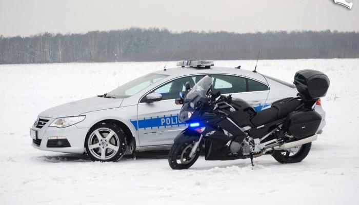 Yamaha FJR1300A - nowa broń warszawskiej policji