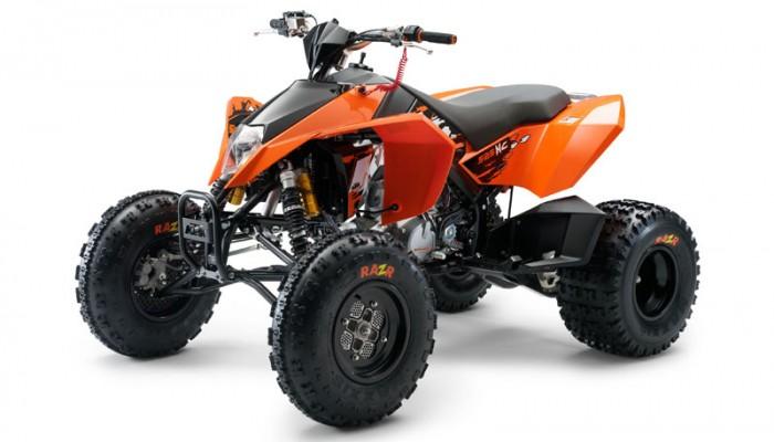 KTM XC - quady dostępne w Europie