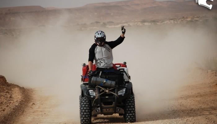 Libia Quad Adventure 2008 - quadami przez pustynię