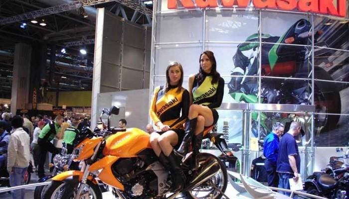 Birmingham Motorcycle Show i London MCN
