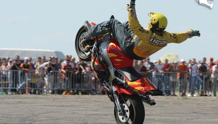Stunt i FMX na Litwie, czyli Bike Show Millenium 2007
