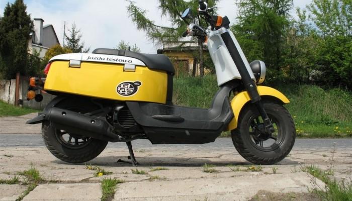 Yamaha Giggle - chichot na drodze