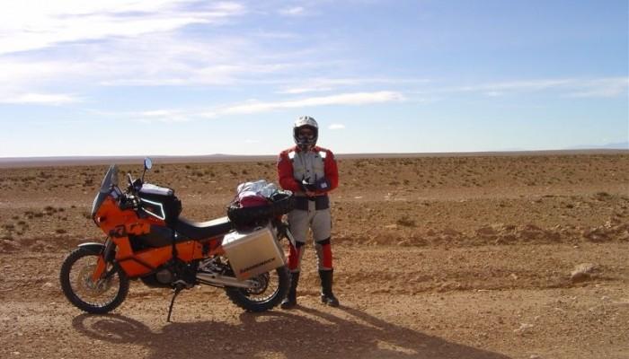 Wywiad z pierwszym Polakiem - amatorem, uczestnikiem Rajdu Dakar
