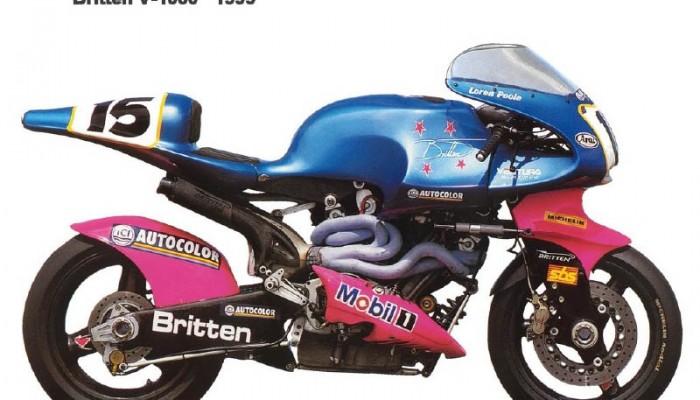 Sportowe egzotyki - Britten V1000