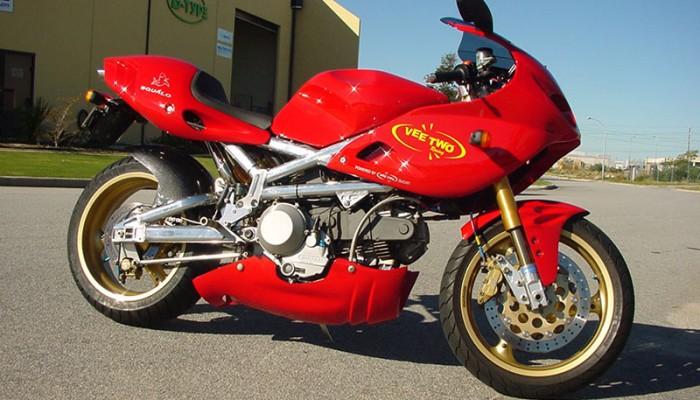 Sportowe Egzotyki - Ducati Squalo